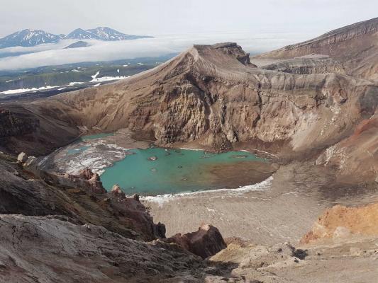 Reisebericht Kamtschatka, Gorelij Vulkan