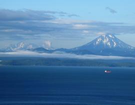 Awatscha Bucht Kamtschatka Kamchatka