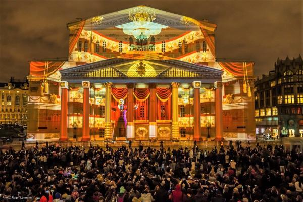 Circle of Light in Moskau 2018