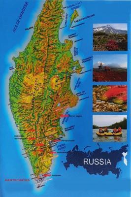 Landkarte von Kamtschatka