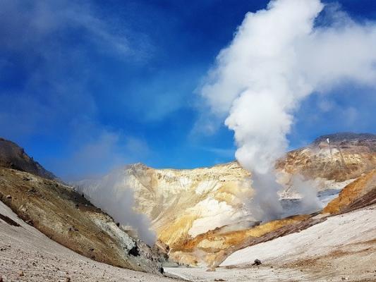Kamtschatka, Vulkan Mutnowskij Kamtschatka