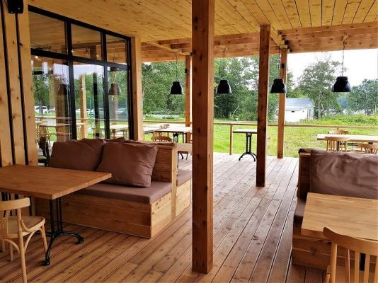 Restaurant - Resort Lagune, Kamtschatka