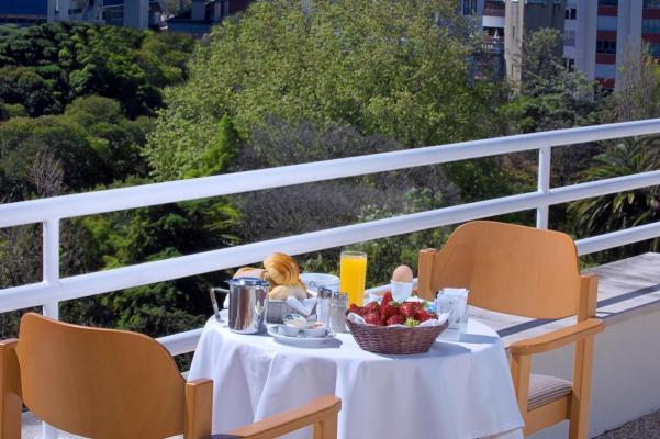 Terrasse - Hotel Olissippo Marques, Lissabon