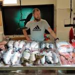 Fischmarkt auf Kamtschatka Russland