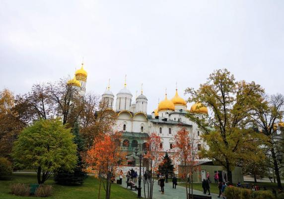 Reise nach Moskau, Kremlkathedralen