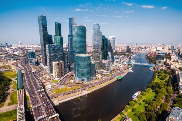 Reise nach Moskau, Moskau City