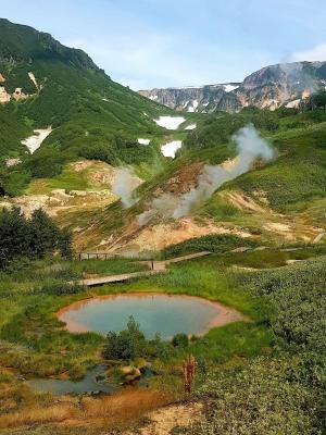 Uzon Caldera - Tal der Geysire, Kamtschatka