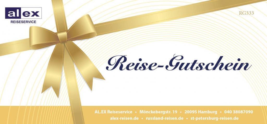 Reisegutschein, AL.EX Reiseservice