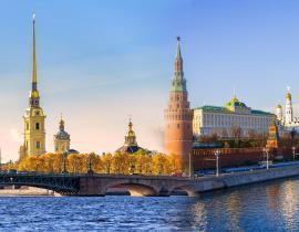 Moskau und St. Petersburg - Panorama