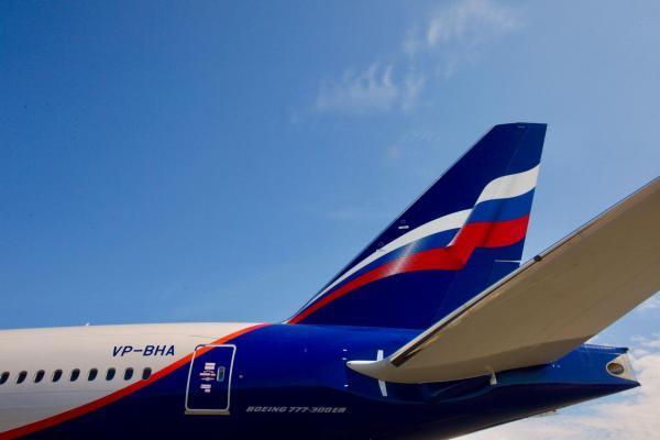 Aeroflot - Flugzeug