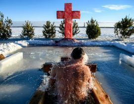 Epiphaniefest, Russland Reise, Eisbad, Reise Russland