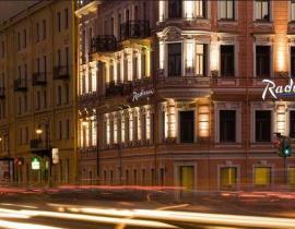 Fassade - Hotel Radisson Sonja, St. Petersburg