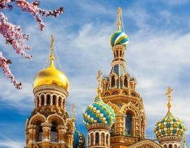 Erlöserkirche St. Petersburg, Premium-Reise Moskau und St. Petersburg
