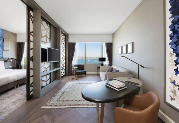 Bosphorus Suite - Hotel Ritz Carlton, Istanbul