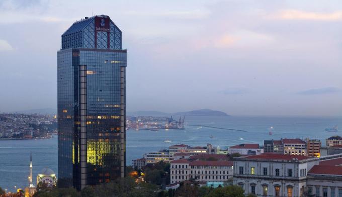 Fassade - Hotel Ritz Carlton, Istanbul