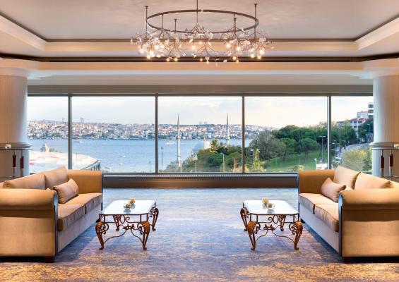 Lounge - Hotel Ritz Carlton, Istanbul