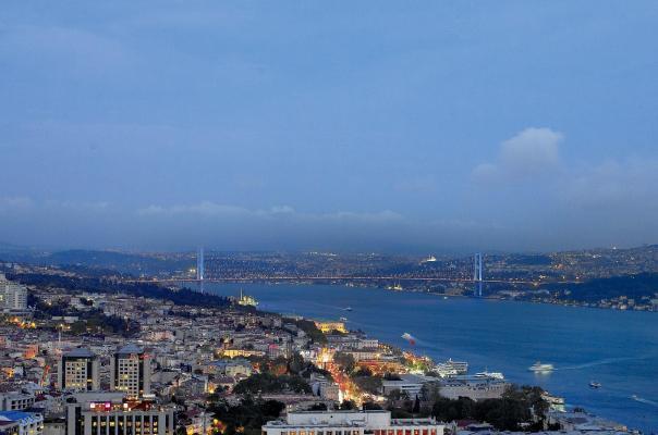 Panorama - Hotel Ritz Carlton, Istanbul