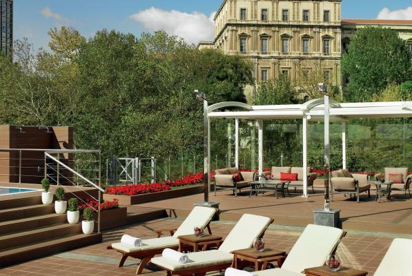 Terrasse - Hotel Ritz Carlton, Istanbul