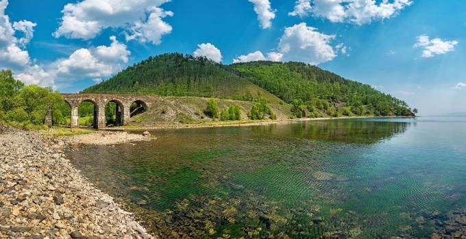 Baikalrundbahn - Insel Olchon, Baikalsee
