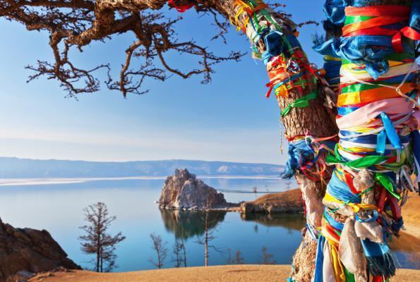Insel Olchon, Sibirien Russland, Baikalsee