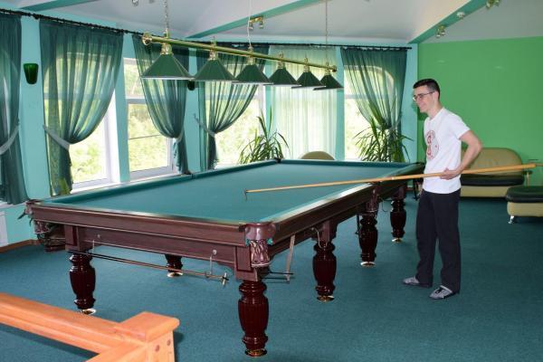 Billiard - Hotel Antarius, Kamtschatka