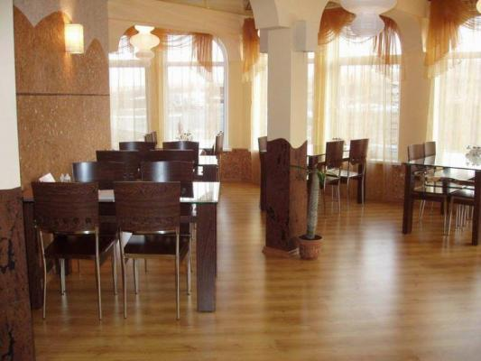 Frühstück - Hotel Antarius, Kamtschatka