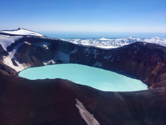 Kratersee, Kamtschatka