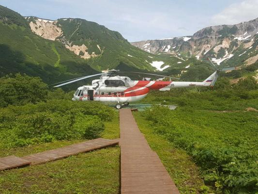 Helikopter, Kamtschatka