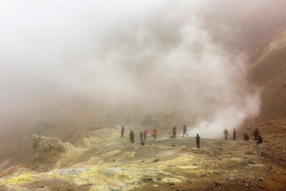 Krater Mutnowskij, Kamtschatka