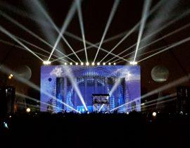 Festival des Lichts 2019, St. Petersburg