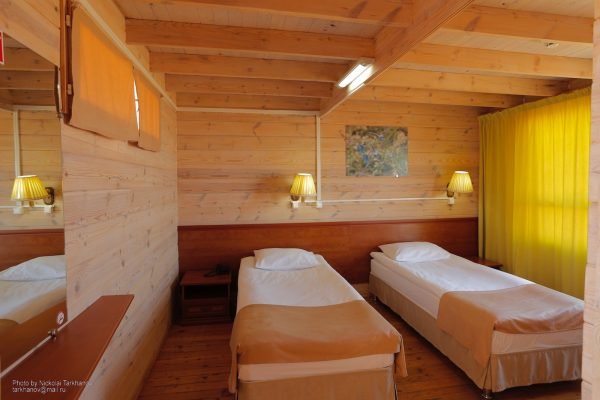 Doppelzimmer - Hotel Baikal View, Olchon/Baikalsee