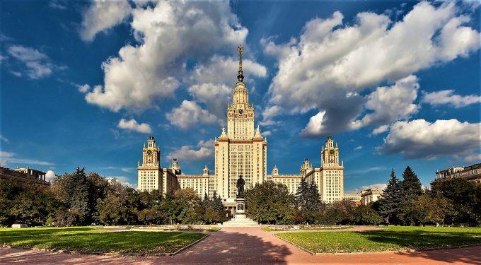 Lomonossow Universität Moskau, Reise Moskau Russland