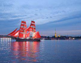 St. Petersburg: Fest der Roten Segel
