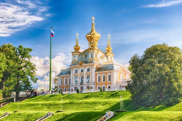 Palastkirche am Peterhof, St. Petersburg