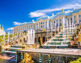 Großer Palast in Peterhof, St. Petersburg