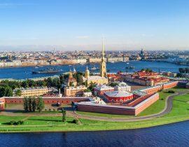 Wasili-Insel mit Peter-Paul-Festung, St. Petersburg