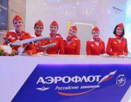 Aeroflot-Mitarbeiter