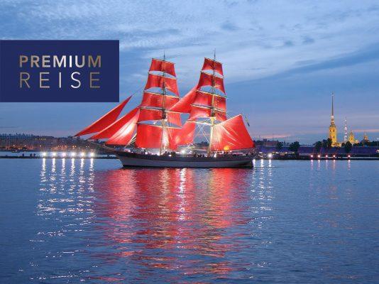 Premium Reise Weiße Nächte St. Petersburg