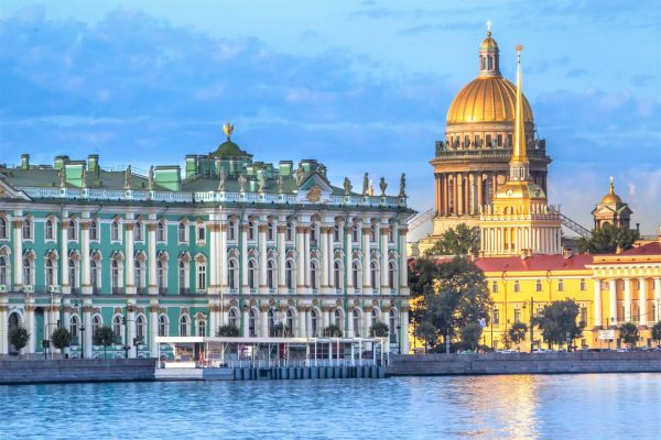 Eremitage in St. Petersburg, Reise nach St. Petersburg, Sankt Petersburg