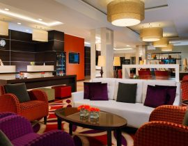 Hotel Marriott Puschkin Lobby St. Petersburg