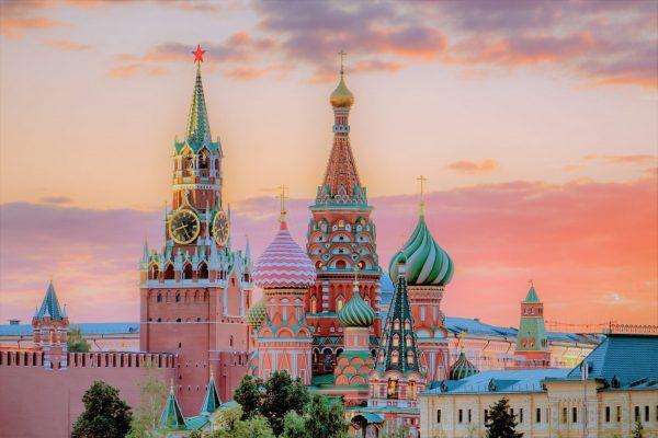 Reise nach Moskau und St. Petersburg