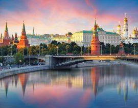 Reise nach Moskau