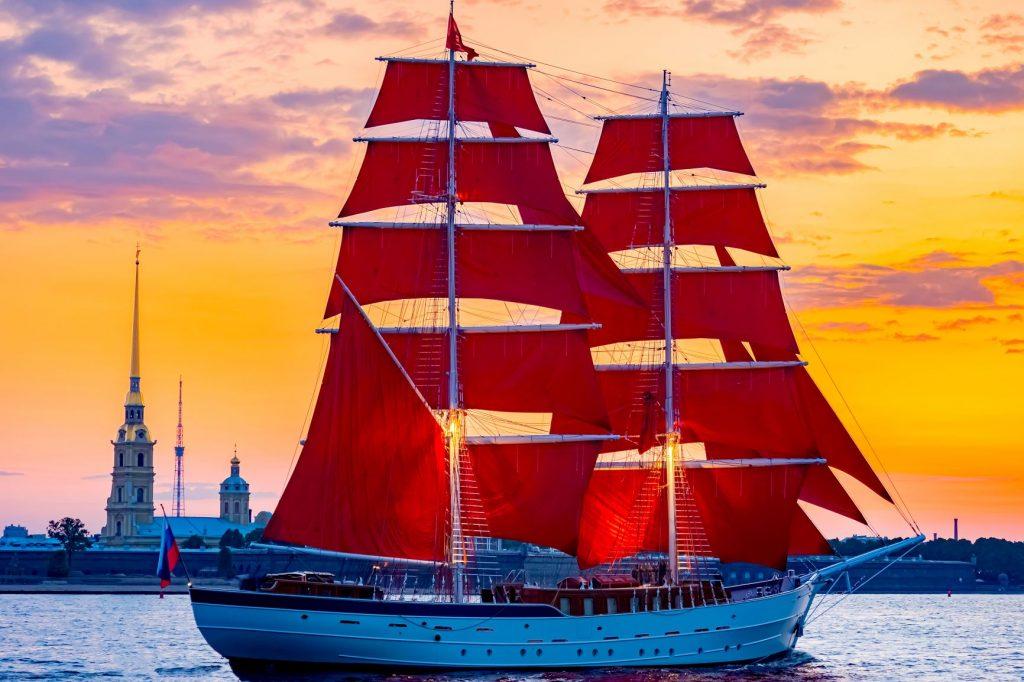 Fest der Roten Segel St. Petersburg, St. Petersburg Reise