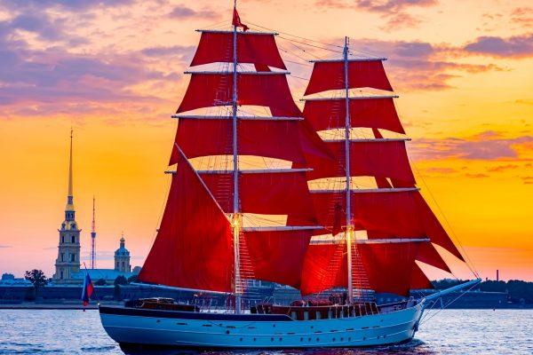 Fest der Roten Segel St. Petersburg