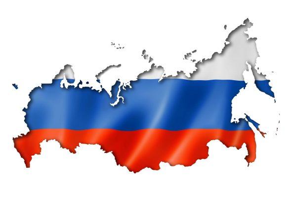 Russland Flagge, Coronavirus Russland