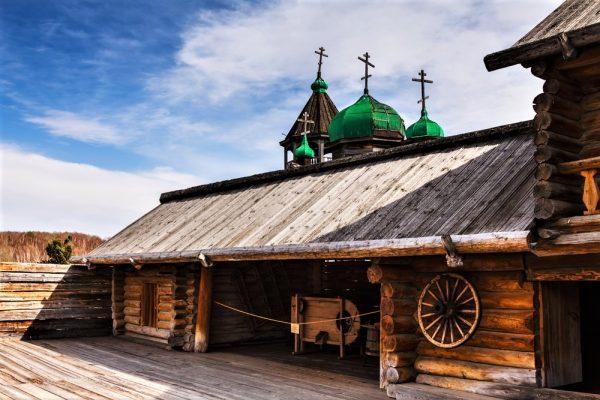 Baikalsee Talzy Sibirien
