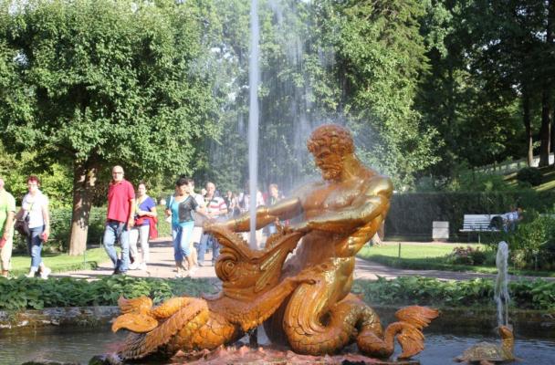 Zarenresidenz Peterhof, St. Petersburg