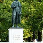 Schiller Statue, Kaliningrad