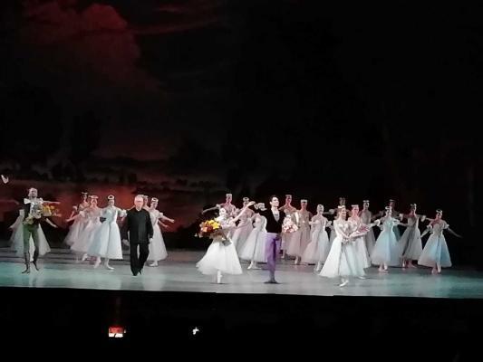 Balletaufführung, St. Petersburg
