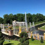 Kunden fotografieren: Peterhof, St. Petersburg